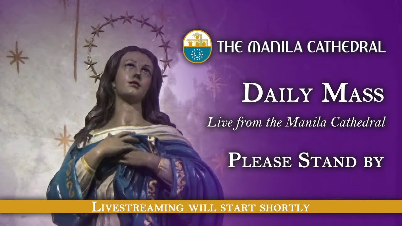 Catholic Daily Mass at the Manila Cathedral 22nd February 2021 (12:10pm)