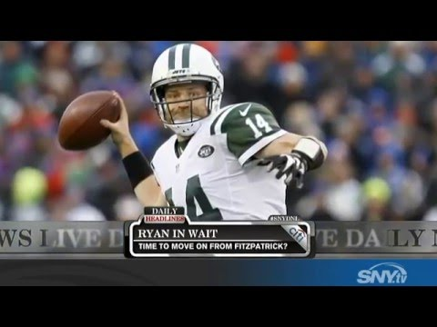 Video: Daily News Live: Will the Jets re-sign Ryan Fitzpatrick?