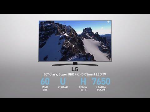 LG  60UH7650 Super UHD 4K HDR Smart LED TV - 60