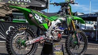 10. Inside Adam Cianciarulo's Factory Monster Energy Kawasaki KX250F - Motocross Action Magazine