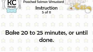 KC Poached Salmon Wmustard YouTube video