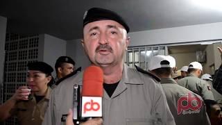 Comandantes do 14o BPM, e do CPR II falam sobre inauguração da Pptrans em Sousa