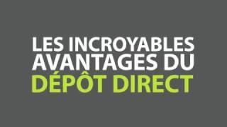 Le gouvernement du Canada passe au dépôt direct pour tous les paiements qu'il verse. Le dépôt direct est pratique, fiable et sécuritaire et permet d'épargner...