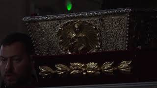 VIDEO  - Aducerea moaștelor Sfintei Parascheva în Catedrala Mitropolitană