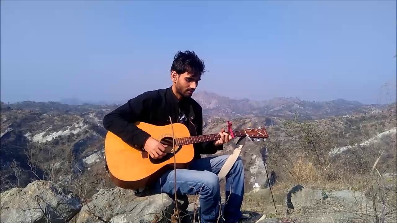 LoVe Romantic Mashup Valentine's day- Guitar cover Chords Bollywood Romantic songs