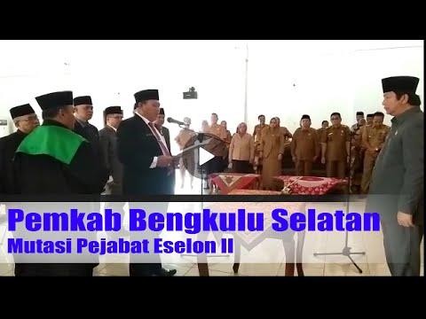 Pemkab Bengkulu Selatan Mutasi Pejabat Eselon II