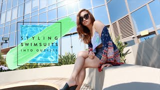 Styling Swimsuits Into Outfits by Clothes Encounters