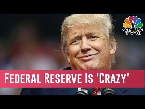 Trump Calls Stock Selloff 'A Correction,' Says Federal Reserve Is 'Crazy'