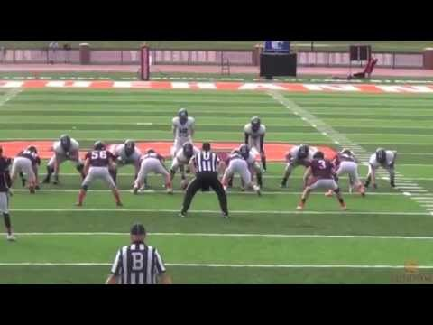 Football Highlights (9/13/14 vs. Johns Hopkins)