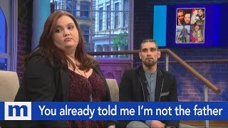 You already told me I'm not the father...Stop wasting my time! | The Maury Show