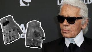 Почему дизайнер Карл Лагерфельд появлялся на публике в перчатках