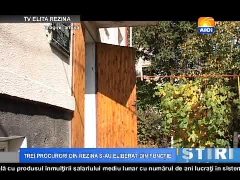 AICI TV REZINA TREI PROCURORI DIN REZINA SAU ELIBERAT DIN FUNCTIE 19 03 2015