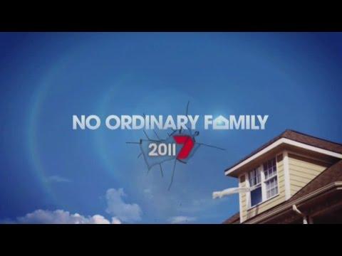 Channel 7 Promo: No Ordinary Family (2011)