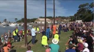 Ulladulla Australia  City new picture : Greasy Pole Competition Ulladulla Australia