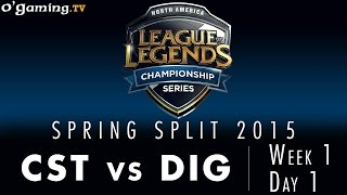 LCS NA Spring 2015 - W1D1 - CST vs DIG