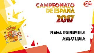 Final Femenina Absoluta 2017