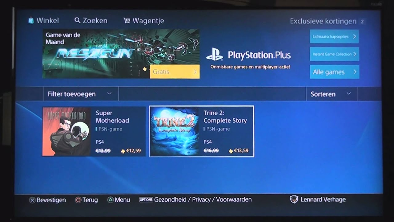 Video-item: Een rondleiding in de PlayStation Store op de PlayStation 4