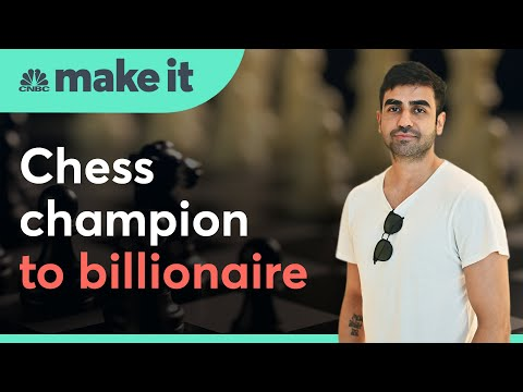 How this 34-year-old chess champion became one of India's youngest billionaires | CNBC Make It