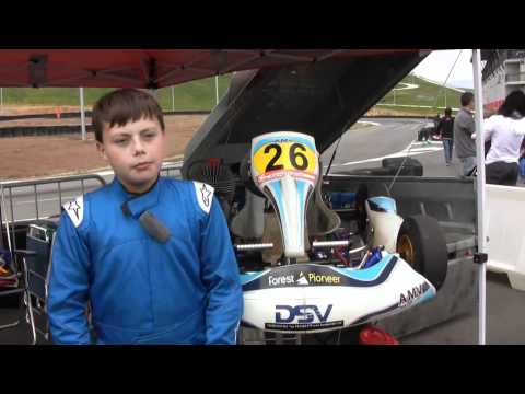 Karting. Asier Hurtado (01/05/11)