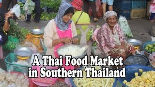 Satun Thailand  City pictures : Morning Market in Southern Thailand. A walk around a food market in Satun Thailand. Thai Food
