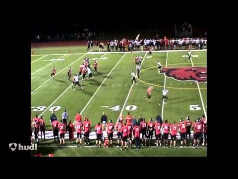 Mike McCarthy Bridgewater State Football Highlights (No Music)