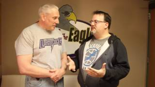 Former Rockford Lightning coach Chris Daleo recently stopped by to talk basketball and the history of Rockford's last professional basketball team.If you're new, Subscribe! → http://bit.ly/1wcuEI3Go here → http://967theeagle.net.Like us → https://www.facebook.com/967TheEagleFollow us → https://twitter.com/967theeagleGet our newsletter → http://www.967theeagle.net/newsletterFor any licensing requests, please contact rockford.youtube@townsquaremedia.com.
