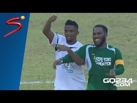 Jay-Jay Okocha Magic Moments [Individual Highlights] Joseph Yobo Testimonial Match 2016