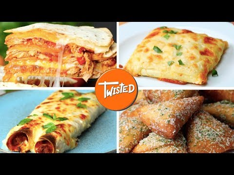 10 Different Ways To Eat Lasagna | Twisted
