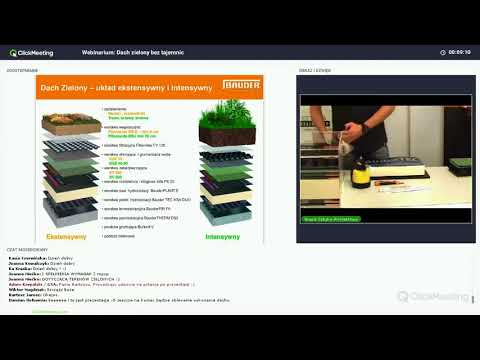 Webinarium Bauder - Systemy Dachów Zielonych