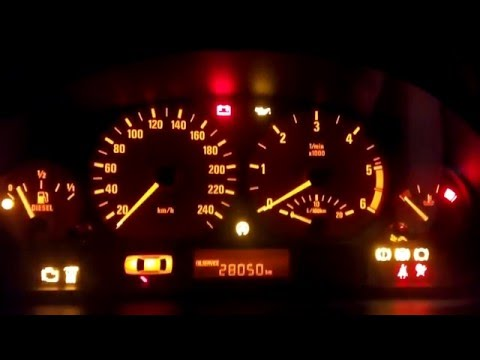 BMW e46 318d Common Rail Cold Start