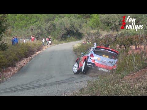 Vídeo salida carretera Neuville Hyundai WRC Rally RACC Cataluña España 2015