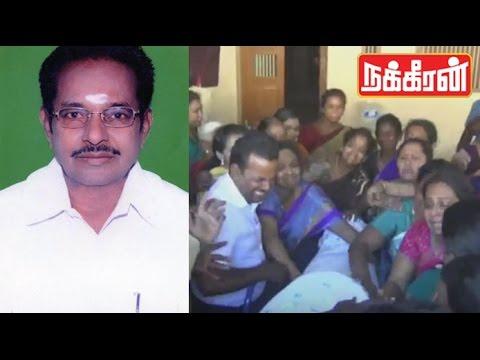 ADMK-MLA-Seenivel-died-at-Madurai--Sad-Moments