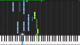 Radioactive - Imagine Dragons [Piano Tutorial] Ноты и МИДИ (MIDI) можем выслать Вам (Sheet music for