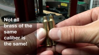 In theory, 5.56 brass should have a small volume that .223 Rem.  While reloading some range brass the other day, out of the blue, some .223 started over flowing with powder.  I thought my powder dispenser went crazy, but upon further inspection, I discovered a new-to-me head stamp (PMP) had a much smaller capacity than any other .223 Rem or 5.56x45 NATO.  I was fortunate that the volume differences were so profound, but it shows that one must be careful with mixed head stamps as different volumes with the same amount of powder could lead to drastically different pressures.