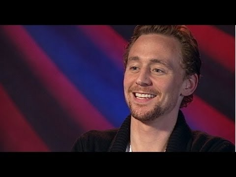 Marvel\'s \'The Avengers\' Movie Tom Hiddleston Interview: Yoda Impression and Bob Dylan Song