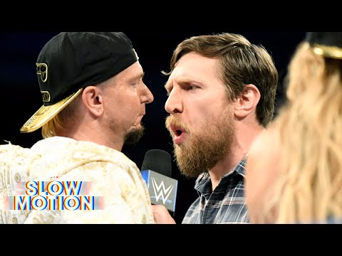 Watch Daniel Bryan resolve the Women's Money in the Bank controversy in slow-motion: June 20, 2017 (видео)