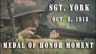 Video Sergeant York - 1918 Medal Of Honor Moment HD MP3, 3GP, MP4, WEBM, AVI, FLV Juli 2018