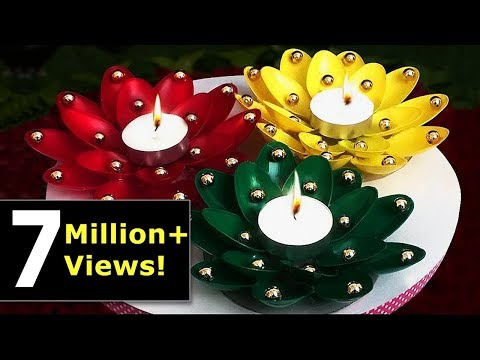 bellissime decorazioni porta candele - fai da te!