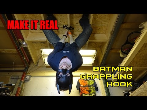 Guy Builds RealLife Batman Grappling Hook