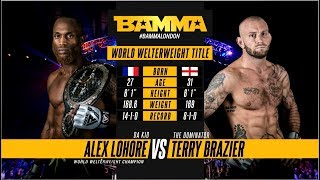 Video BAMMA 34: Alex Lohore vs Terry Brazier MP3, 3GP, MP4, WEBM, AVI, FLV Oktober 2018