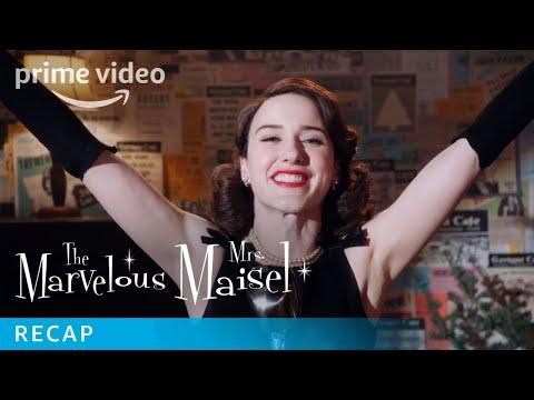 Marvelous Mrs Maisel Episodes Season 1 Recap | Prime Video