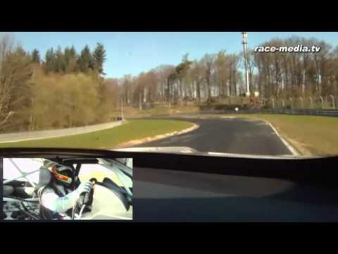 BMW Motorsport M3 GT Onboard Jörg Müller Qualifikation VLN 3. Lauf 2010 Nürburgring Nordschleife (видео)