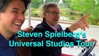 Download Video Steven Spielberg Gives A Tour of Universal Studios - Behind The Scenes of Movie Magic MP3 3GP MP4