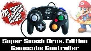 Super Smash Bros. Edition Gamecube Controller – AVAILABLE FOR PRE-ORDER!-