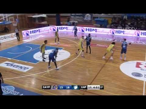 Basket League 2019-2020: ΛΑΥΡΙΟ – ΛΑΡΙΣΑ | 28/12/2019 | ΕΡΤ