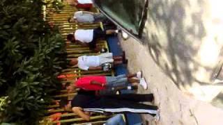 Primeiro vídeo da venda de ingressos no Ginásio do Ibirapuera para o jogo Santos x Tachira - 18/04. Se não quiser virar o pescoço, não veja o vídeo¬¬
