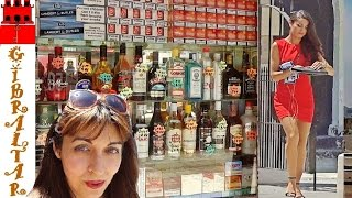Gibraltar main street, beautiful girls, shops, cigarettes and spirits, let's compare the prices :), Watch Russian girl vlogs about Life in ...