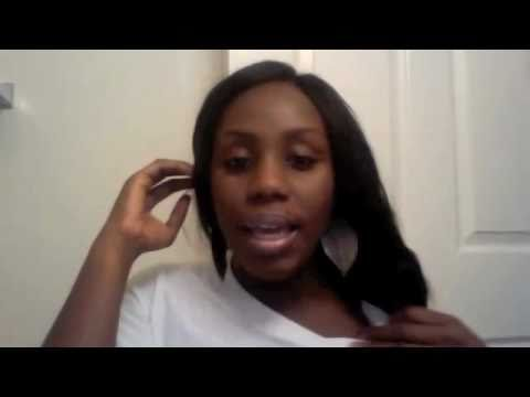 DIY: weave sew in w/ side part