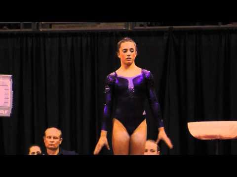 Lexie Priessman - Vault Finals - 2012 Kellogg's Pacific Rim Championships - 1st