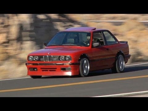 The Tire-Punishing, 400HP Turbo BMW E30! – /TUNED